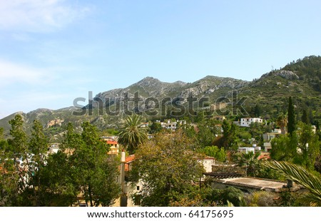 Northern Cyprus,Kyrenia,mountain village.