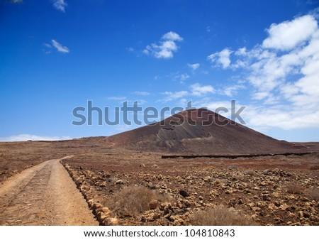 Northern Fuerteventura, Montana Colorada