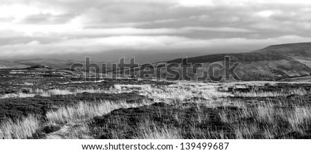 Northern Ireland landscape near Cushendall Area
