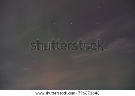 Northern lights (Aurora Borealis) in Norway