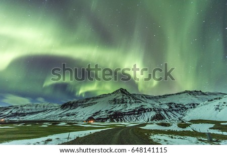 Northern Lights, Iceland - Shutterstock ID 648141115