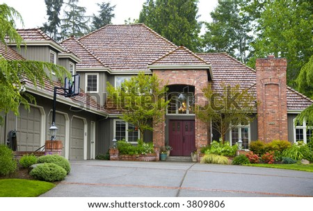 Northwest luxury style house
