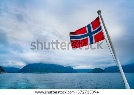 Norway flag Nature Norway #572715094