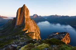Norway. Location : Segla Peak on Senja in Troms