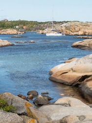 Norway's coast attracts beach goers and boaters.