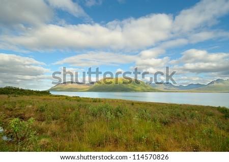 Norwegian mountain landscape
