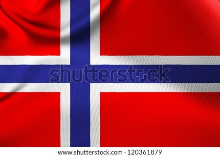 Norwegian national flag.