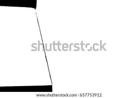 Not illustrative Vector - The abstract photo showing of the mystery line painting, or proportional line arts patterns for texture and business background isolated on white template with blank space