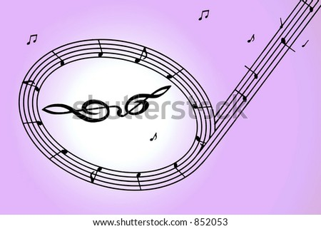 Note of music