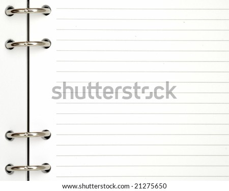 note pad background