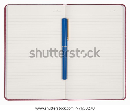 Note Pad is ready for writing any note