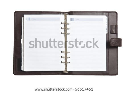 notebook - stock photo