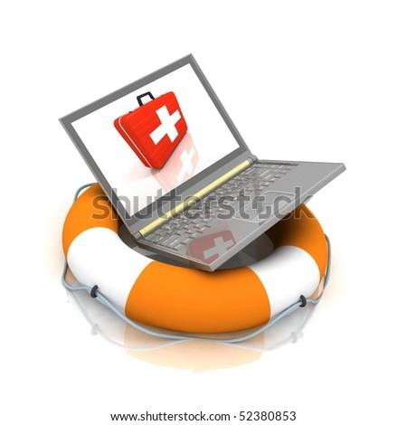 notebook lifesaver
