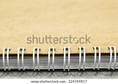 notebook paper ridge coil type for account book and take note.