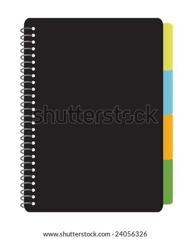 Notebook Planner - stock photo