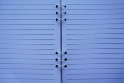 Notepad memo clear background. blank paper space. copy space photo back to school concept