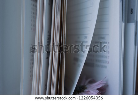 Notepad pages as pages of our lives #1226054056