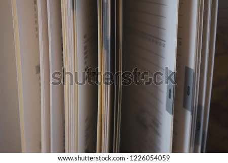 Notepad pages as pages of our lives #1226054059