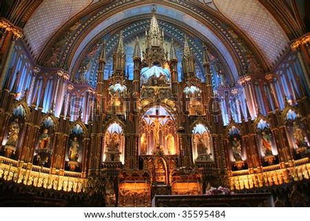 Notre dam Basilica Montreal