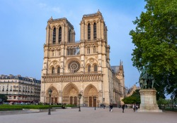 Notre Dame de Paris Cathedral, France