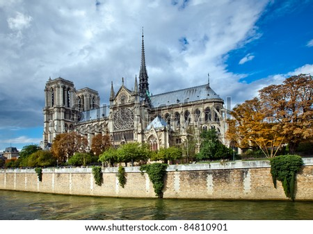 "Notre-Dame de Paris, french for ""Our Lady of Paris"", also known as Notre-Dame Cathedral or simply Notre-Dame, is a medieval Catholic cathedral in Paris, France"