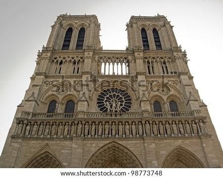 Notre-Dame de Paris (Ile de la Cit�©e Paris France)