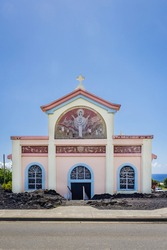 Notre Dame des Laves, a catholic church on Réunion island