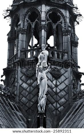 Notre Dame (detail)