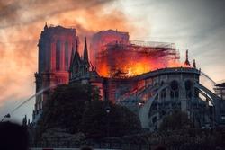Notre Dame Fire Paris