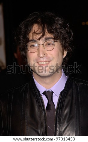 Nov 16, 2004; Los Angeles, Ca: Sean Lennon (Son Of John ...