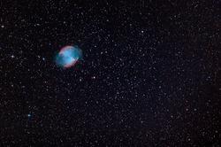 nova remnant in deep space