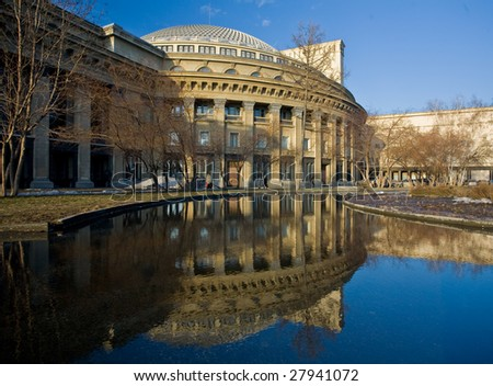 Novosibirsk theater of opera russia stock photo