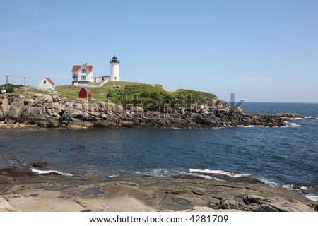 Nubble Lighthouse York Maine 2