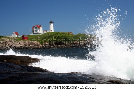 Nubble w/wave