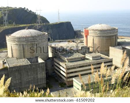 nuclear plant in Lemoniz (Vizcaya)