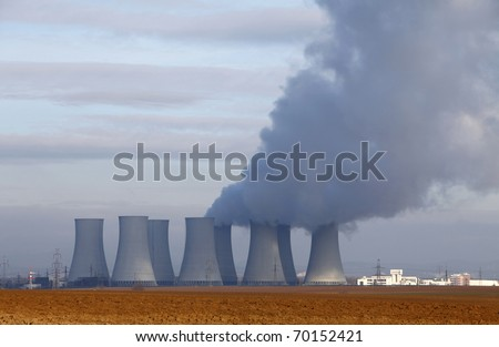 Nuclear power plant and field