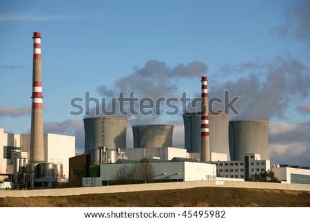 Nuclear power plant Dukovany, Czech republic
