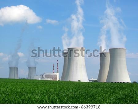 Nuclear power plant. Dukovany, Czech Republic, EU.