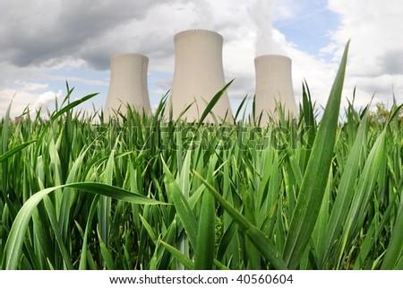 Nuclear power plant in Temelin (Czech Republic)