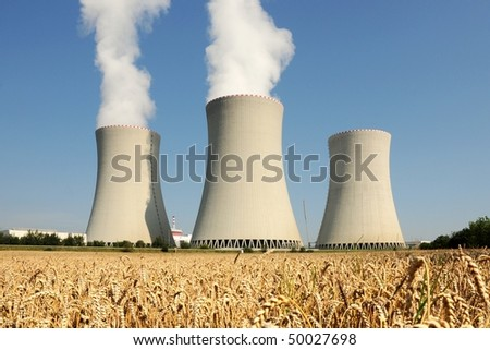 Nuclear power plant in Temelin (Czech Republic)