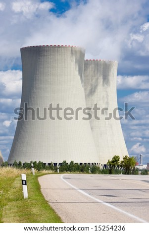 Nuclear power plant road
