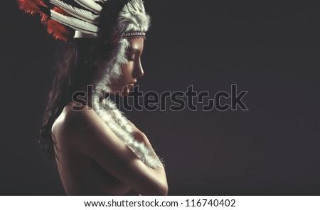 stock photo nude american indian girl pocahontas 116740402 Voyeur videos for adult Voyeur adult videos