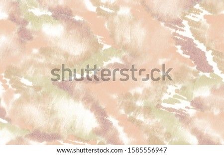 Nude Dyed Messy Texture. Grain Hand Drawing Paint. Material Watercolour Material Print. Data Abstract Art Wallpaper. Club Bug Craft.