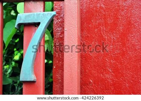 Number 7 #424226392