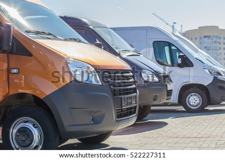 number of new minibuses and vans outside #522227311