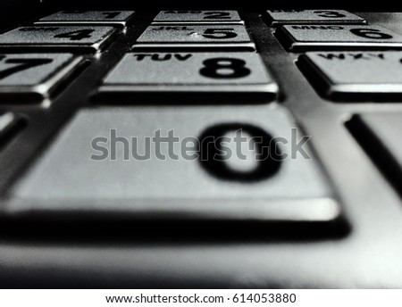 Number Pad, number buttons,  #614053880