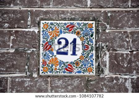 Number twenty one #1084107782