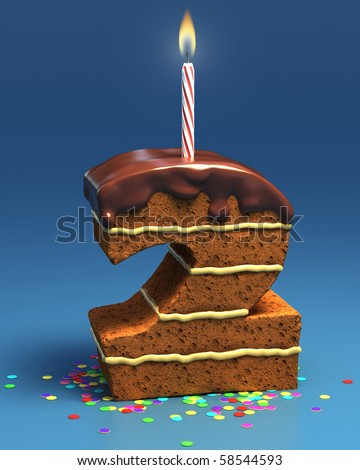 Number 2 Shaped Cakes http://www.shutterstock.com/pic-58544593/stock-photo-number-two-shaped-birthday-cake-with-candle.html