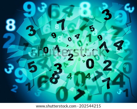 Numbers Education Meaning Bytes Digits And Numeral