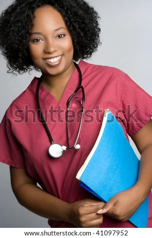 Nurse Holding File